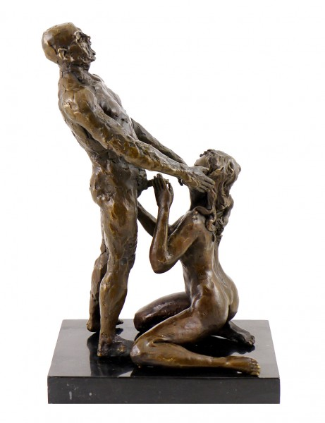 Erotic Bronze Figure - Blow Job/ Oral satisfaction