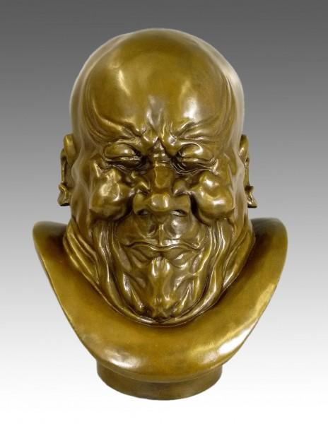 Franz Xaver Messerschmidt - Arch Villain- Bronze sculpture