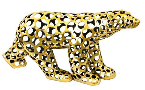 Contemporary Art - Bronze Polar Bear / Cut Out Style - M.Klein