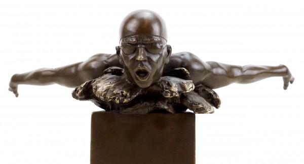 Olympia Edition - Swimmer Bronze Sculpture - Martin Klein