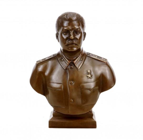 Josef Stalin Bust (1953) - Signed - Bronze Bust - Buy Militaria