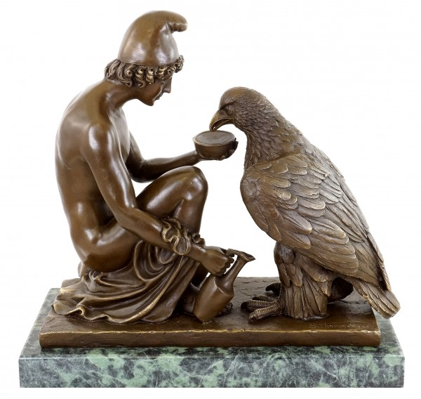 Ganymede - Watering Zeus' Eagle - B. Thorvaldsen
