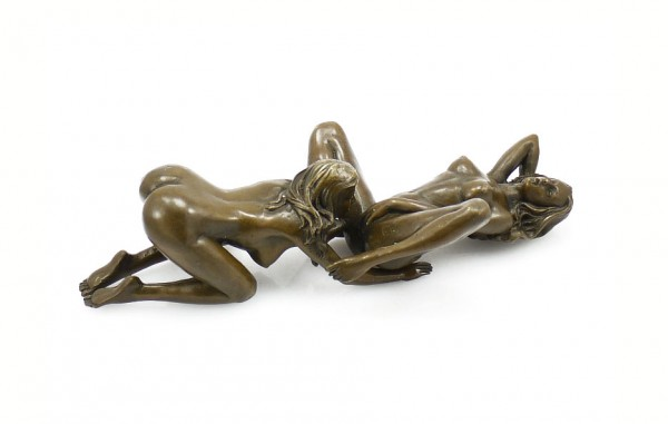Erotic Bronze - Lesbian Couple Having Sex - 2 pieces, J. Patoue