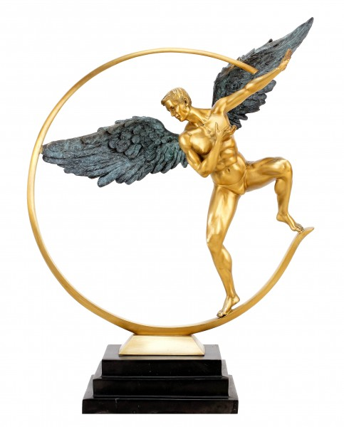 Guardian Angel - Limited Bronze Angel Sculpture - Martin Klein