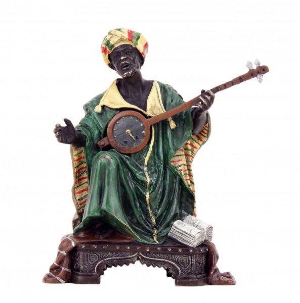 Vienna Bronze - Arabian with Lute - Arabian Musician - Bergmann-Stamp