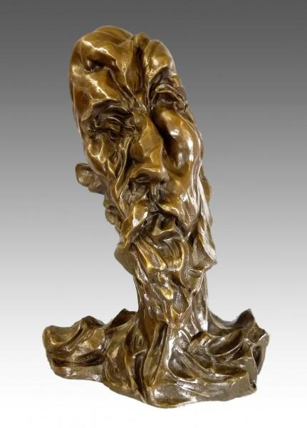 Otto Gutfreund - Don Quijote face - Bronze bust