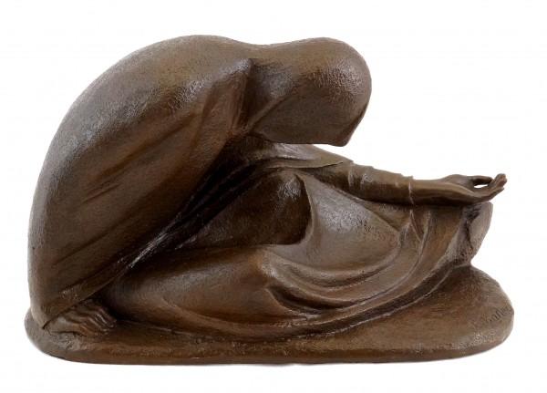 Russian Beggar I (1907) - Ernst Barlach - Bronze Sculpture