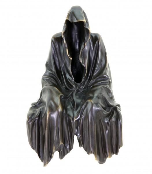 Limited Bronze Shelf Sitter - black Ghost - Gothic Figurine - Dark