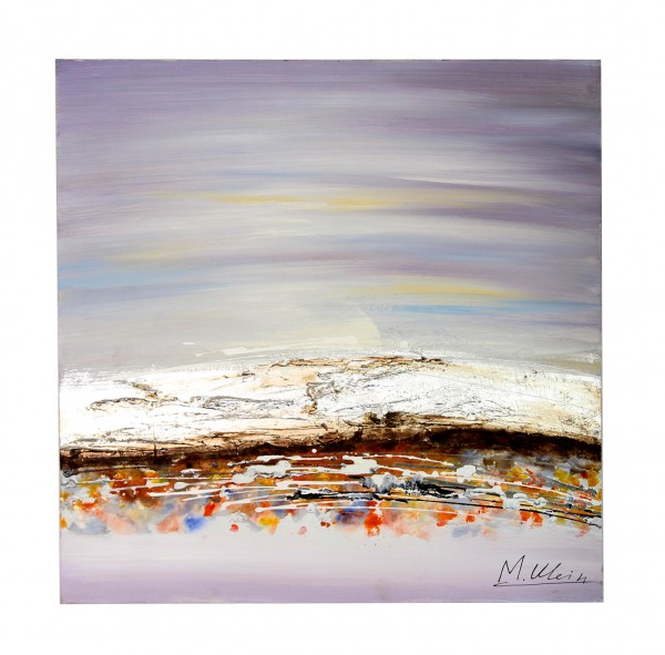 Modern Landscape Oil Painting with Acrlyic Paint - M. Klein