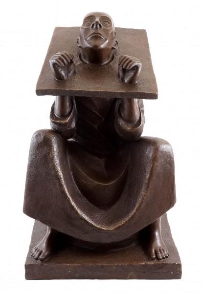Man in Stocks (1918) - Ernst Barlach - Bronze Figure