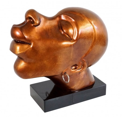 African Head of Fiberglass - Congo Man - Martin Klein