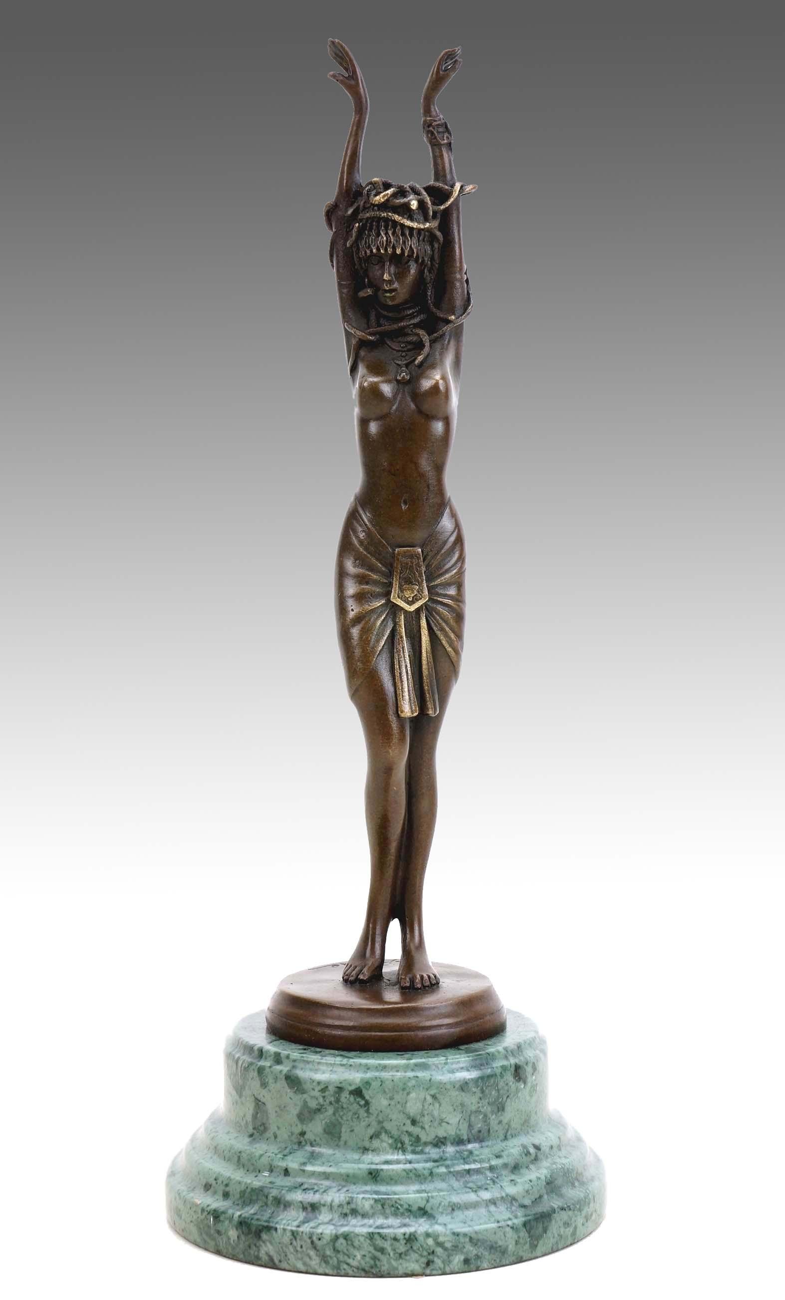 Preview: Medusa - Greek Statue - J. Patoue - Erotic Sculpture ...