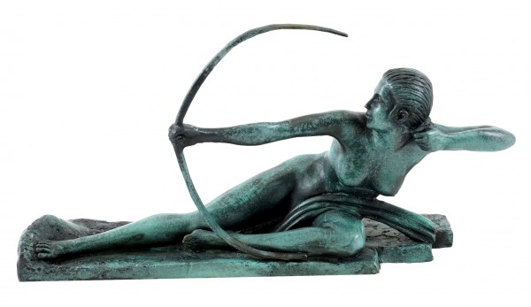 Art Deco Bronze Figure - Penthesilea - Marcel-André Bouraine
