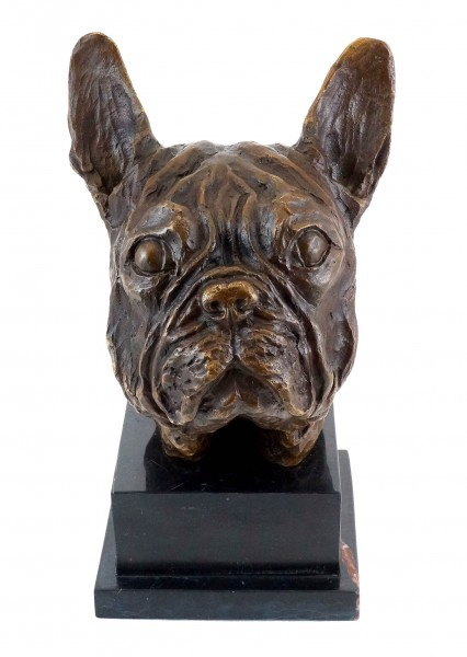 French Bulldog / Bully - Real Bronze - signed by Milo