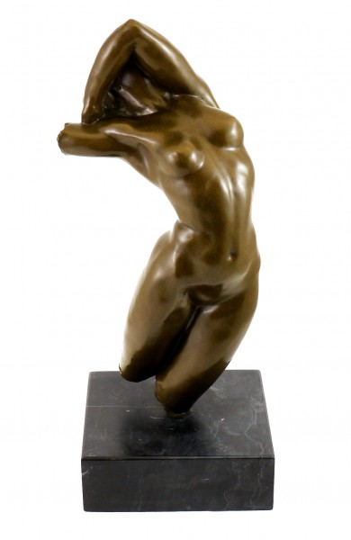 Bronze Figure - Torso of Adele (1882), sign. Auguste Rodin