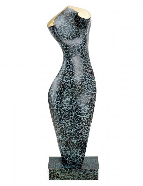 Feminine Nude Torso - Unique - Contemporary Bronze Sculpture - M.Klein