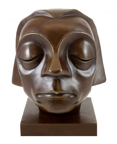 Bronze Figure - Head of the Güstrow Memorial - Ernst Barlach