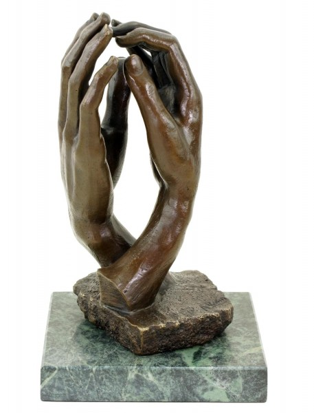 The Cathedral (1908) - Bronze Sculpture by Auguste Rodin - Hands