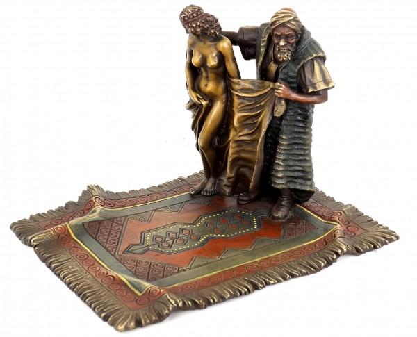 Carpet Trader with Female Slave - Erotic Nude - Bergmann