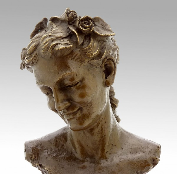 Jean-Baptiste Carpeaux - Bacchante with Lowered Eyes (1872)