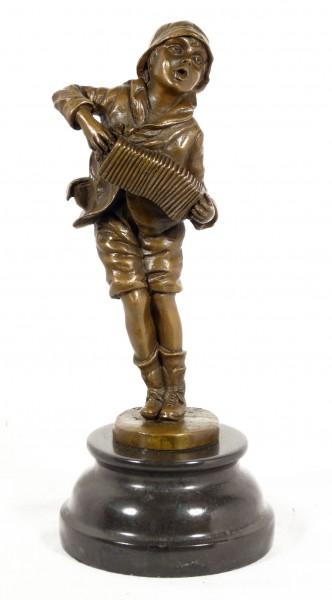 Art Deco Bronze Statue - Lazzarone - signed chiparus