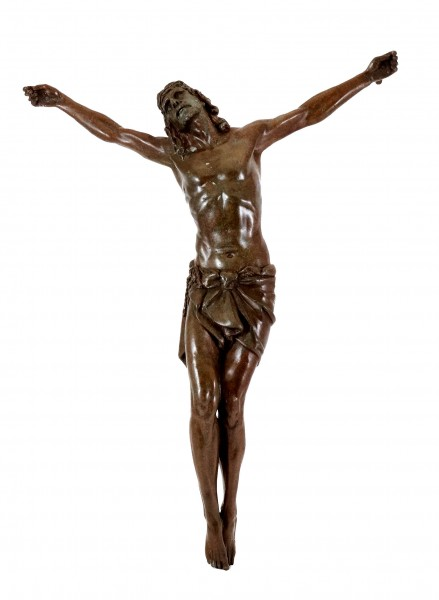 A. A. Weinman - Body of the crucified Jesus (Crucifix) - sign.