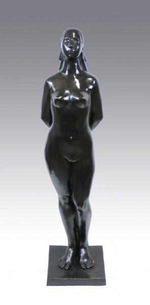 Modern Art Sculpture - Standing Female Nude - after G. Lachaise