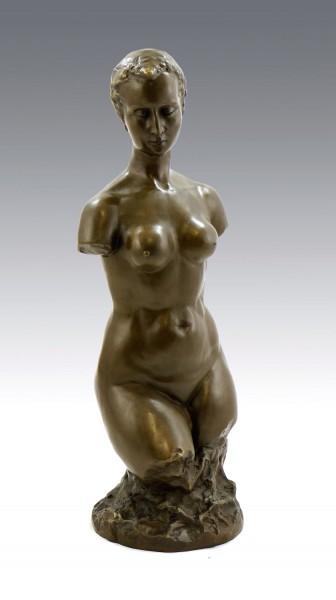 Bronze Statue - Small Female Torso (1910), signed W. Lehmbruck