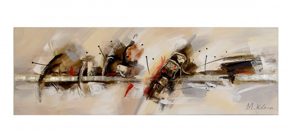 Abstract Art Oil Picture - Oil Painting with Acrylic - M.Klein