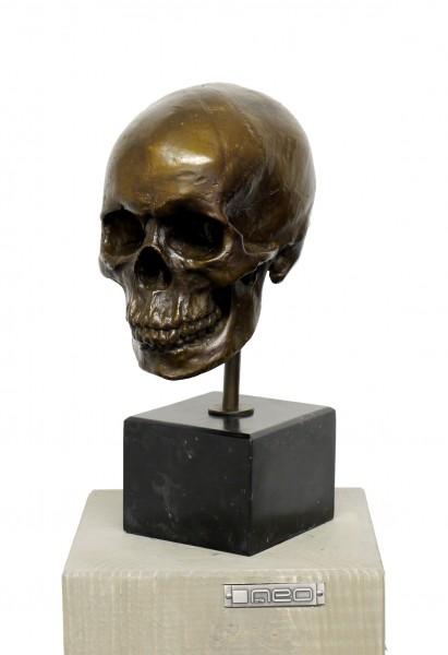 Skull - Modern Art Sculpture, signed A. Stevens