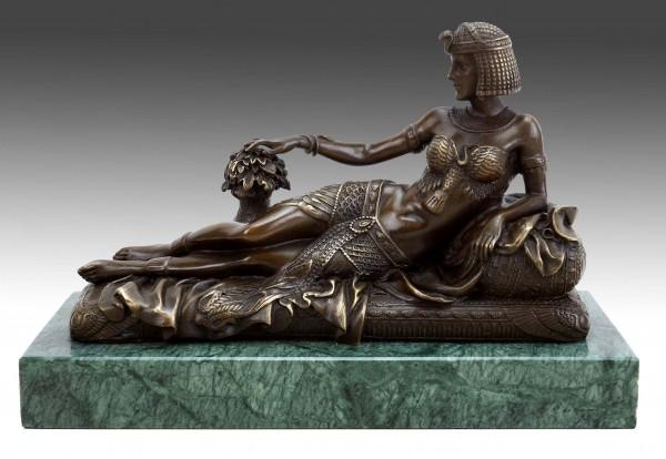 Erotic Nude - Egyptian Pharaoh Cleopatra - J. Patoue