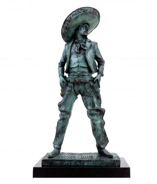 Mexican Cowboy - Charro - Signed Martin Klein - Gaucho Figurine