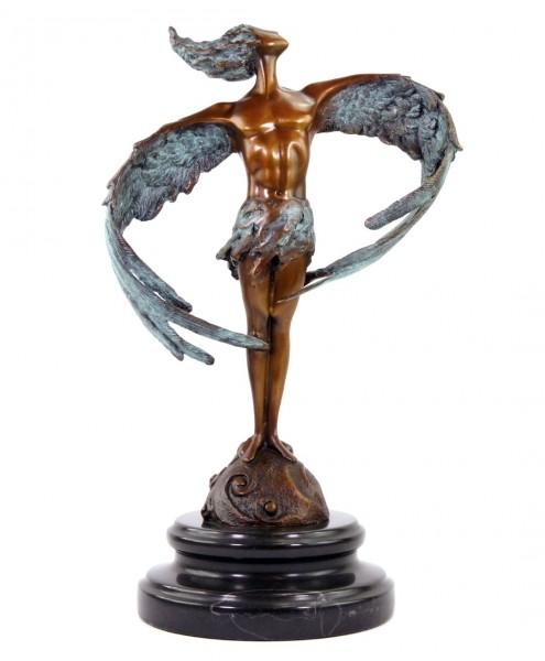 Contemporary Bronze Statue - Icarus´20 - signed Martin Klein