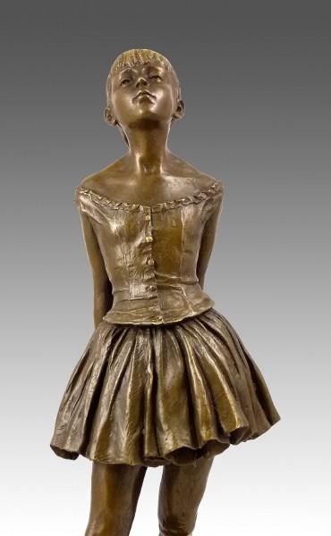 Bronze sculpture Little Dancer of Fourteen Years - sign. Degas