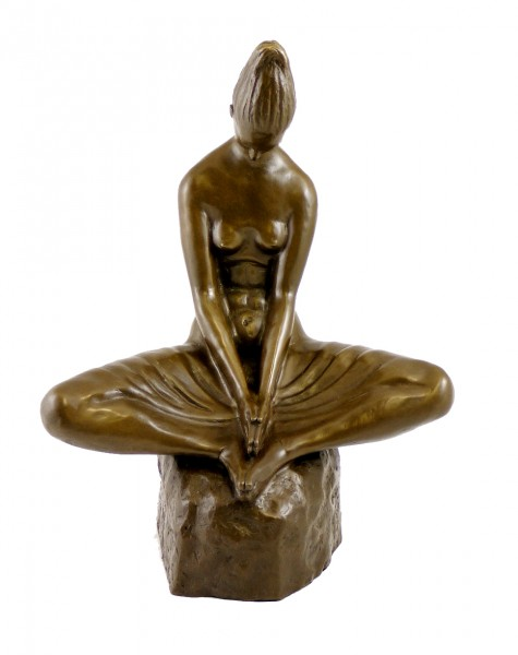 Modern Art Bronze - Vestal Virgin - signed Ivan Mestrovic