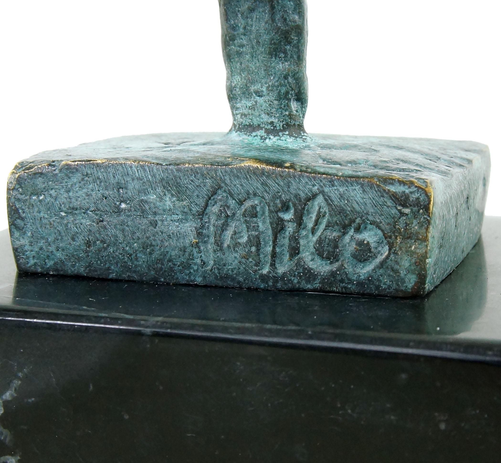 Modern Art Sculpture- Picasso Bust- signed Juno