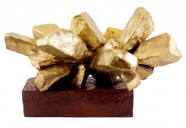 Modern Art - Explosion - Bronze Blocks - signed Martin Klein