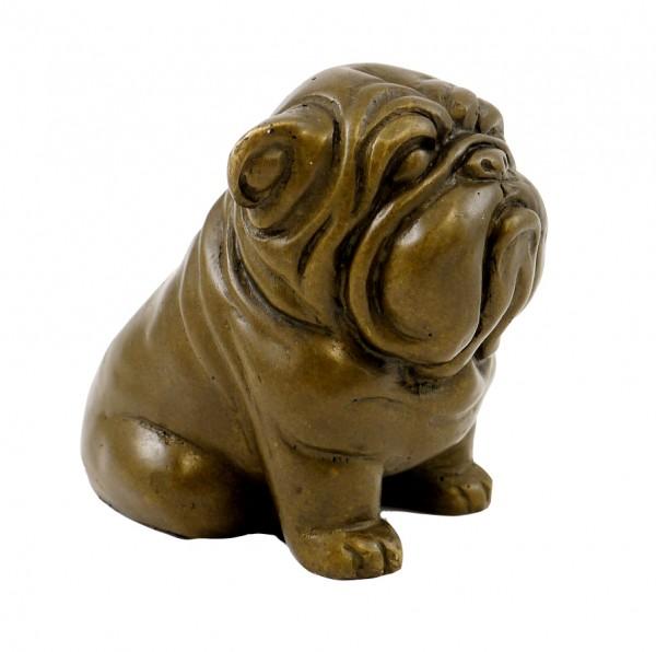 Vienna Bronze Figure - Waiting Dog - Bergmann Vienna