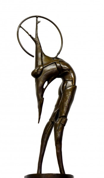 Abstract Bronze Art Marksman / Sagittarius, sign. U. Boccioni