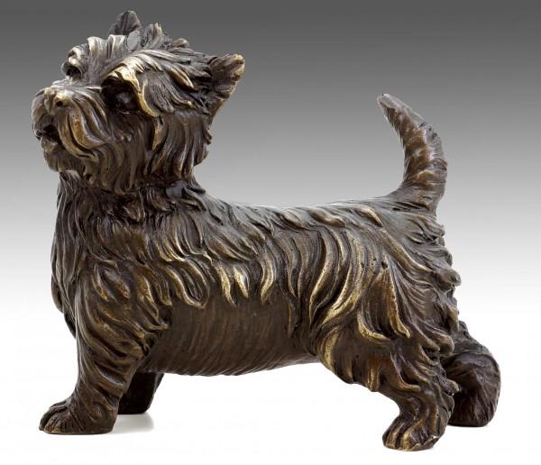 West Highland Terrier - Animal Sculpture - Bronze Dog - Milo