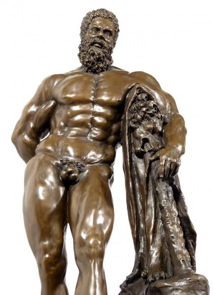 Greek Mythology Bronze FARNESE HERCULES signed Glycon