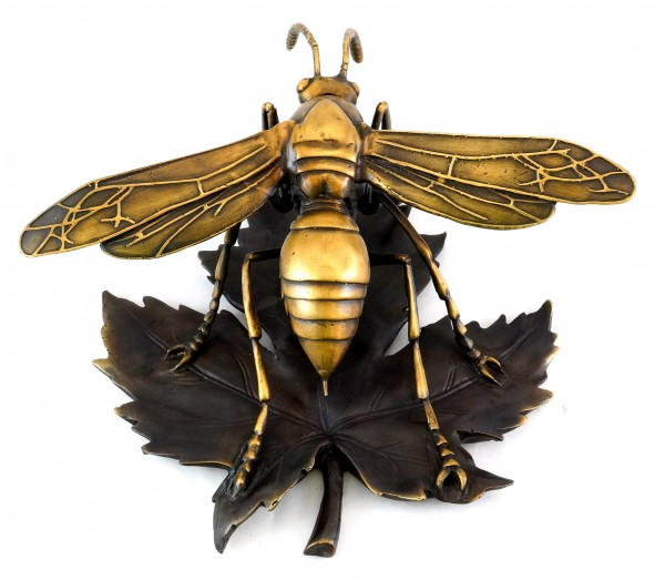 Contemporary Animal Sculpture - Wasp / Bee / Hornet - Sign. Milo