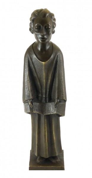 Bronze Sculpture - The Singer (1931) - sign. Ernst Barlach