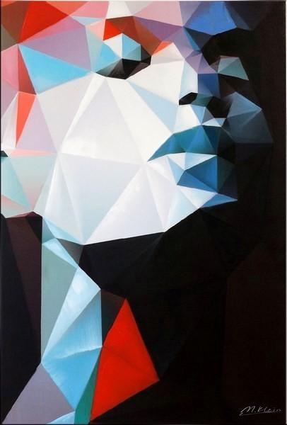 Cubism Portrait II - Future Face - Martin Klein