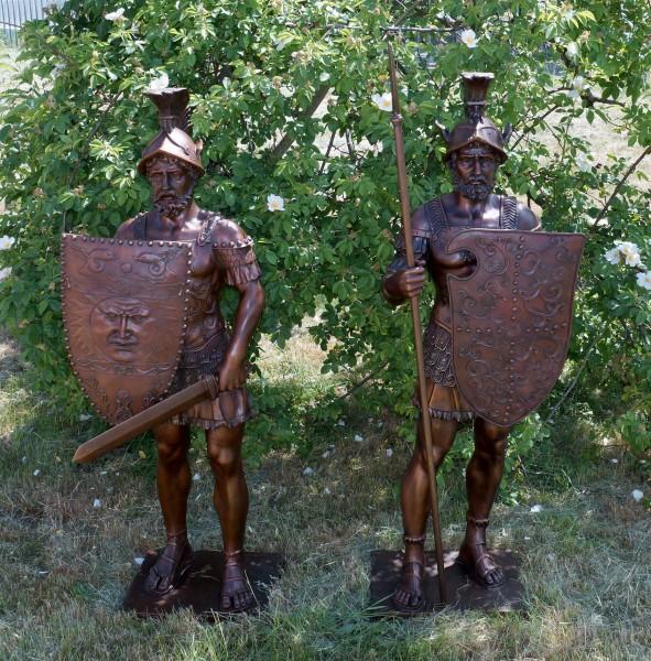 Gatekeepers - Roman Warriors - signed Bertel Thorvaldsen
