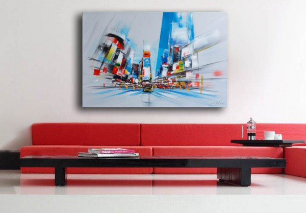 Oil painting - Modern Visions - Times Square in New York