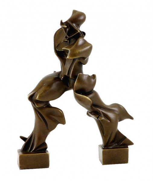 Unique Forms of Continuity in Space - U. Boccioni, Bronze Figure