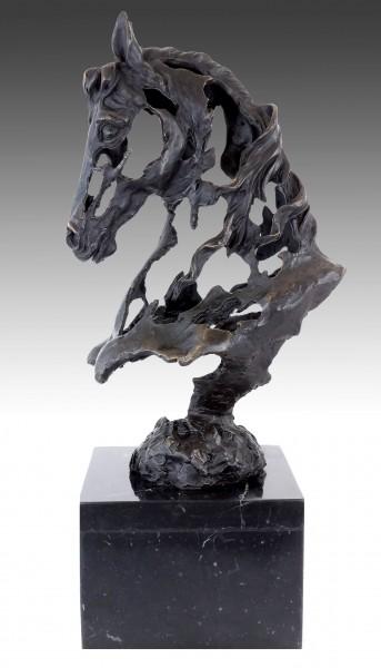 Contemporary Art Bronze Sculpture - Apocalyptic Horse - M. Klein