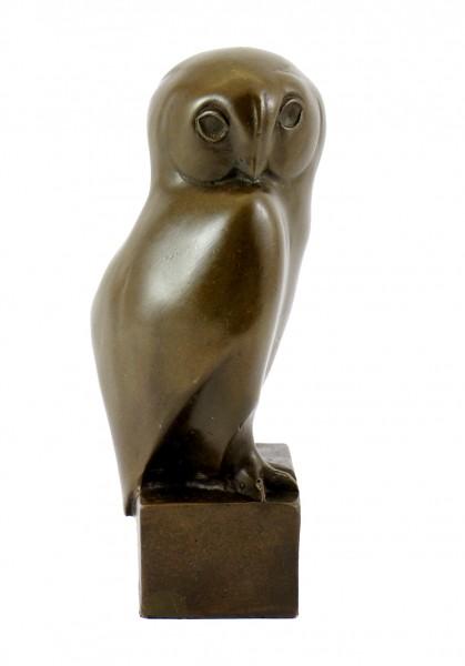 Animal Sculpture - Owl - sign. François Pompon - Real Bronze
