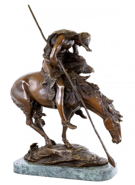 End of the Trail - Bronze Figurine - James Earle Fraser
